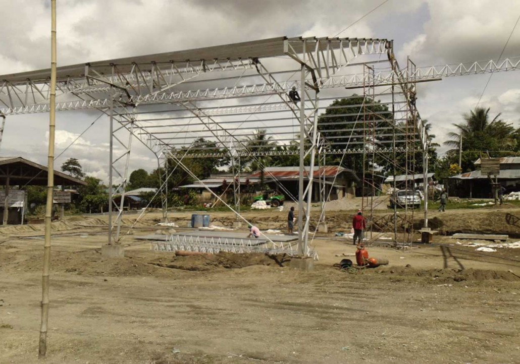 Construction Of Multi Purpose Building Lawrence Eric